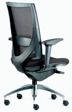 Altitude Midback Chair - Mesh Backrest and Fabric Seat