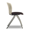 2PF Caddy Chair - Plastic Back and Fabric Seat