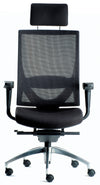 Altitude Highback Mesh Chair - Fabric Seat