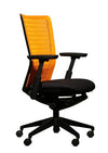 Headlines Midback Chair - Plastic Back and Fabric Seat
