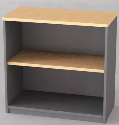 Open Shelf Cabinet