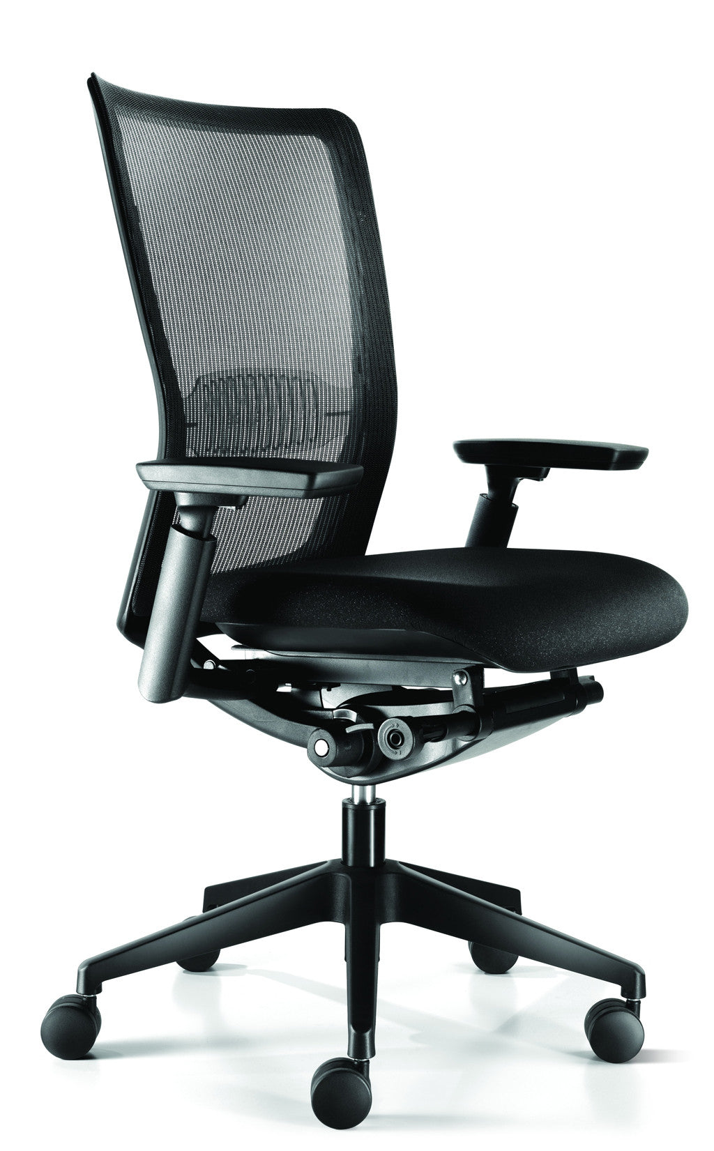 Headlines Midback Mesh Chair - Mesh Back and Fabric Seat