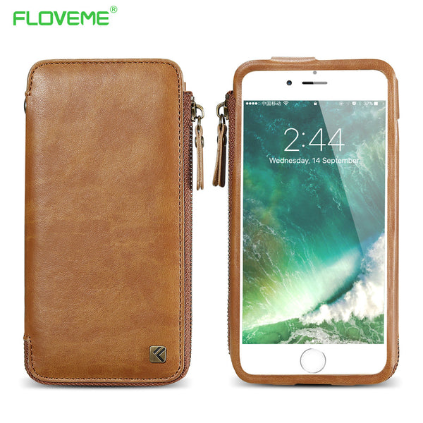 Vintage Wallet Case for iPhone( 6 6S 7 Plus)