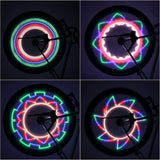 New Arrival Colorful Bicycle Lights Bike Cycling Wheel Spoke Light 32 LED 32-pattern Waterproof new arrival