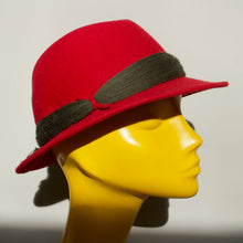 Germany: Child's Tiroler Hat in Red