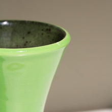 Dümler & Breiden, West Germany: 1950s Vase 102 with Lime Green Glaze