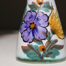 Gouda Flora, The Netherlands: Small Vase with Viola Decor