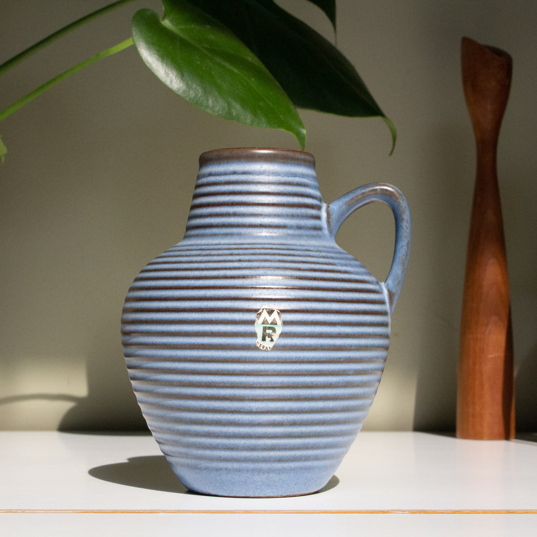 Marzi & Remy, West Germany: Vase 2025 in Sky Blue