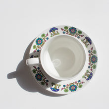 Jessie Tait for Midwinter: Cup and Saucer in the 'Country Garden' Pattern