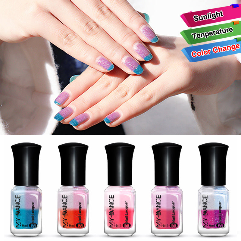Sunlight Colour Changing Nail Polish – fomovibe
