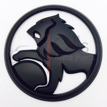Load image into Gallery viewer, VE Grille Badge - Matte Black/Gloss Black
