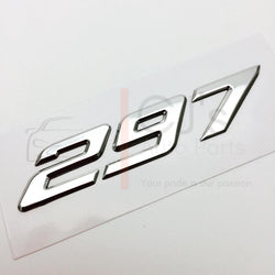 VZ Chrome 297 Badge
