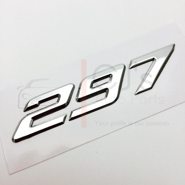 Chrome VZ HSV 297 Badge