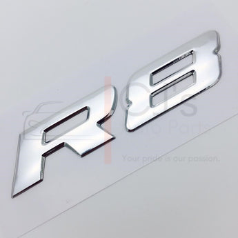 VY Chrome R8 Badge