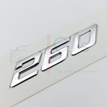 VY Chrome 260 badge