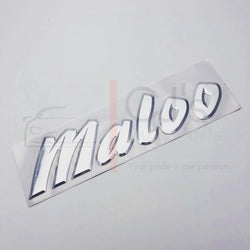 VU VX Chrome Maloo Badge