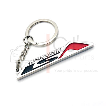Red LSA Supercharged Keyring