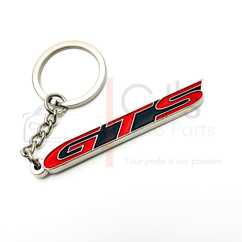 Red GTS Keyring