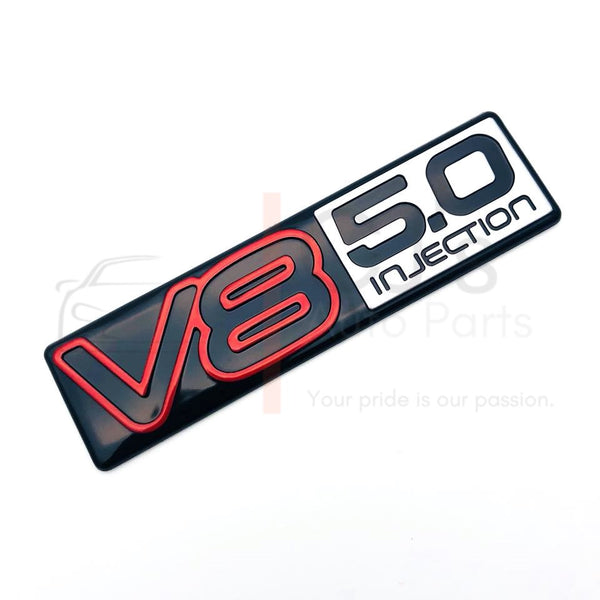 VN V8 5.0 Litre Rear Badge