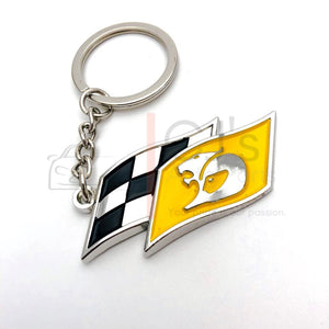 Yellow HSV Flag Keyring