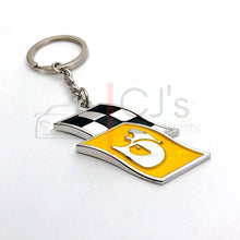 Load image into Gallery viewer, Yellow HSV Flag Keyring
