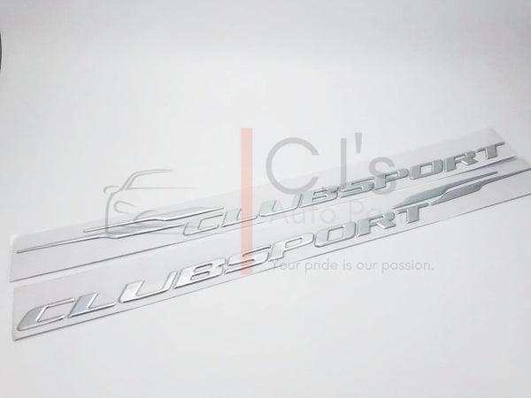 *PRE-ORDER* Chrome VX HSV Clubsport Sideskirt Badges