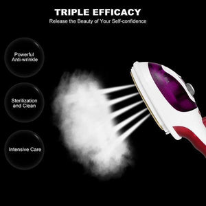 INTELLI-STEAMER PRO: 2 in 1 Portable Handheld Steam Iron (Upgraded Version 2019)