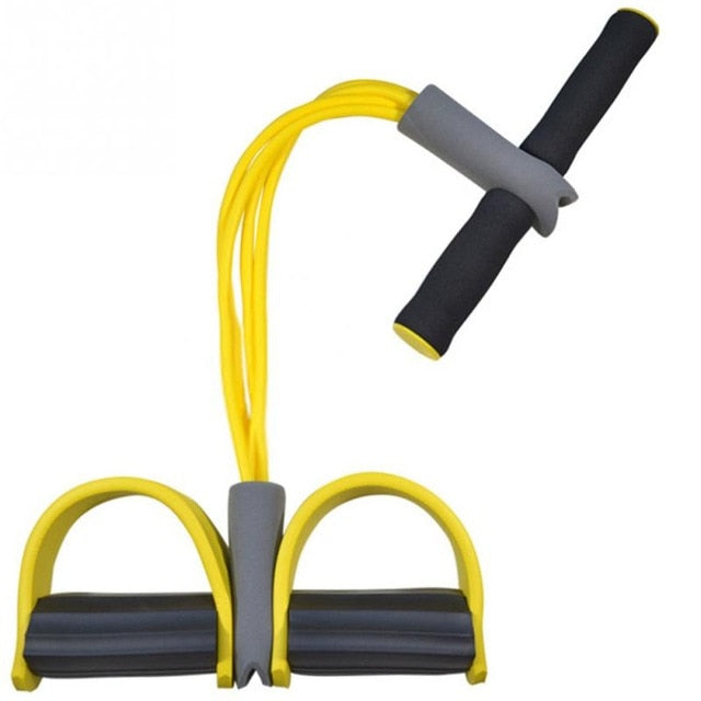 Fitwiz:  4-Tube Pedal Fitness Rope for Woman & Men
