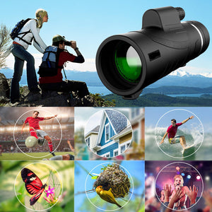 5ZOOM™ 2.0 - High Power Prism Monocular Telescope (40X60 - upgraded 2019)