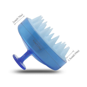 BRAINBOW - The Massaging Silicone Shampoo Brush