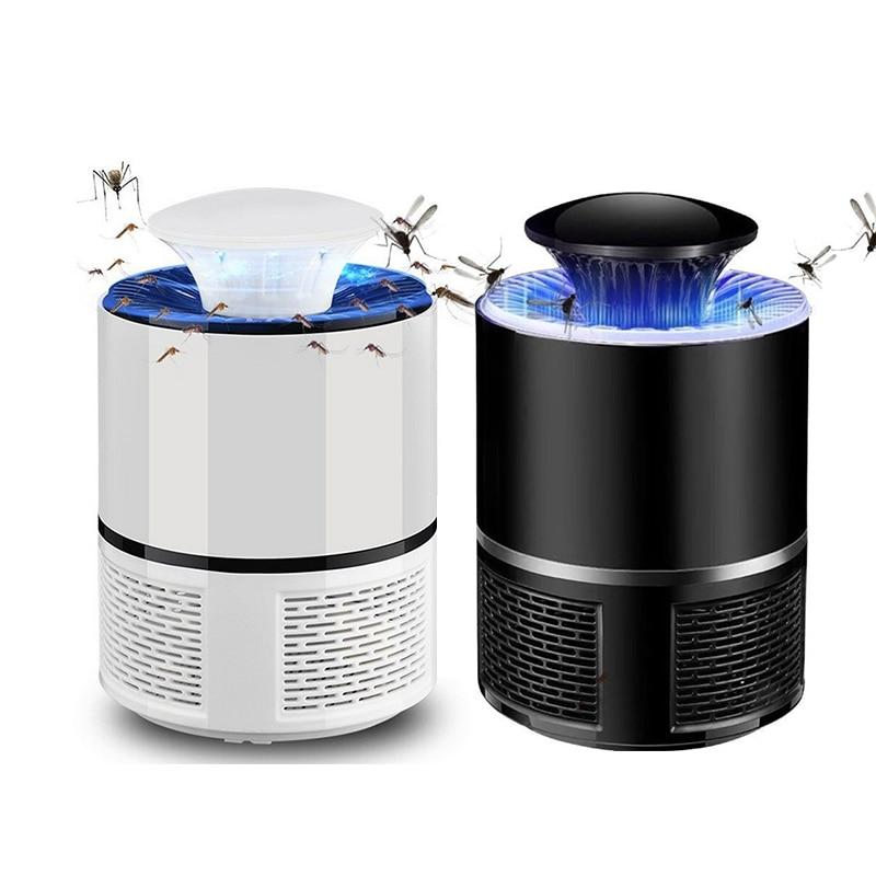 TRAPX - USB Power Led Mosquito Trap Lamp [QUIET + NON-TOXIC]