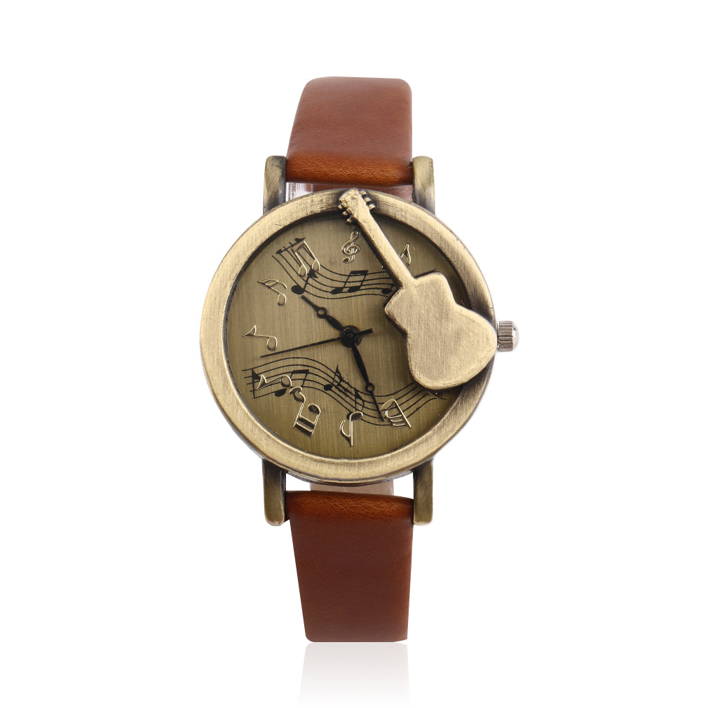 Vintage Design Guitar Watch