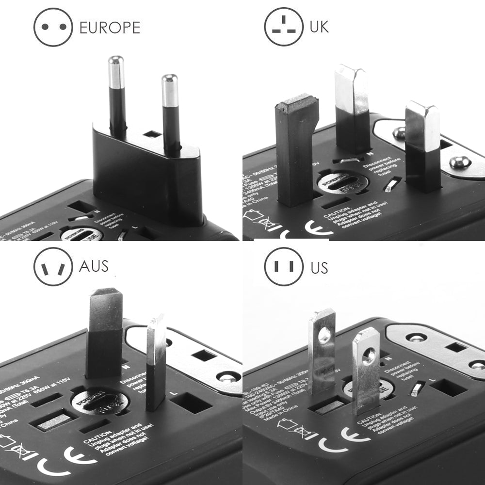 FLEX™  - Perfect Travel Adapter