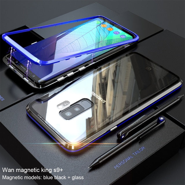 MAGS™ - Magnetic Adsorption Flip Phone Case for Samsung Galaxy