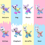 Pet Twistz [Set of 8]