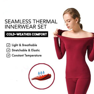 37THIN - Seamless Thermal Innerwear [Set Top & Bottom]