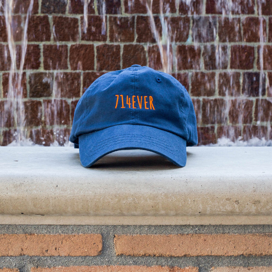714EVER DAD HAT BLUE
