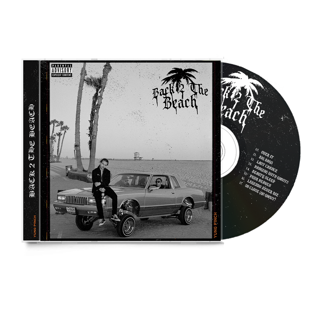BACK TO THE BEACH CD (SIGNED/LTD)