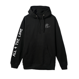 ALL 4 THE LOVE HOODIE (BLACK)