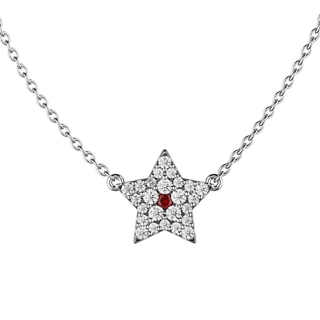 Star Spangled Diamond Necklace - KARP Jewellery