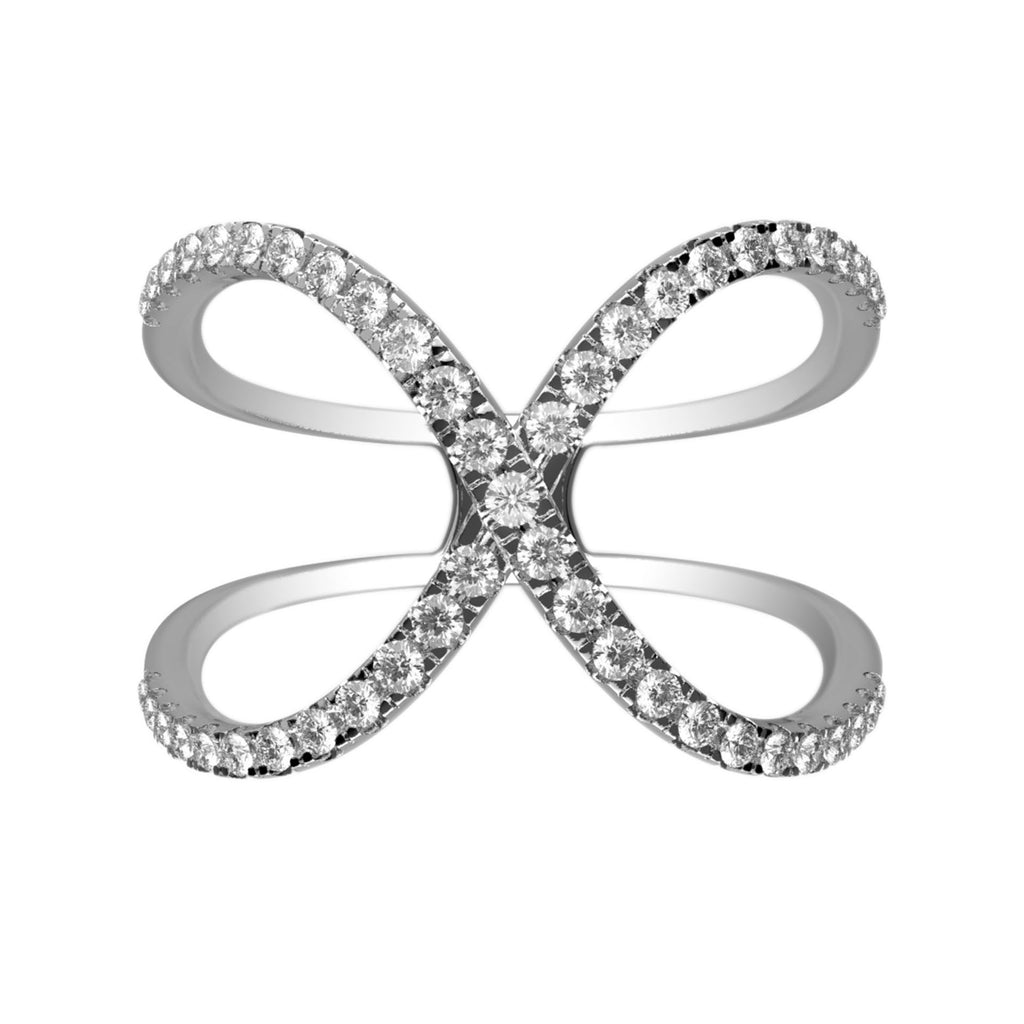 Whimsical Wings Diamond Cutout Ring - KARP Jewellery