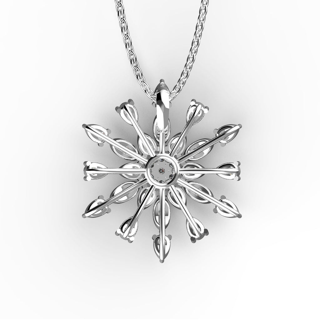 Twinkle Little Star Flake Pendant - KARP Jewellery