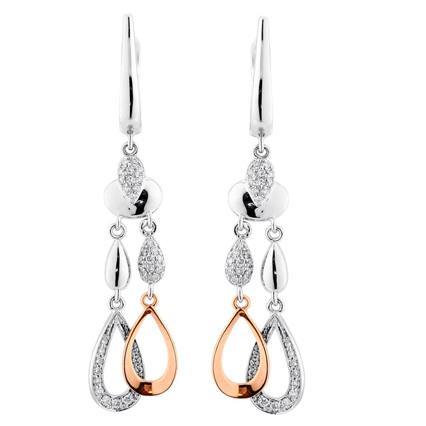 Lustful Diamond Dangle Earrings - KARP Jewellery