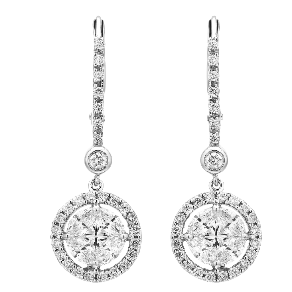 Exquisite Illusion Dangle Earrings