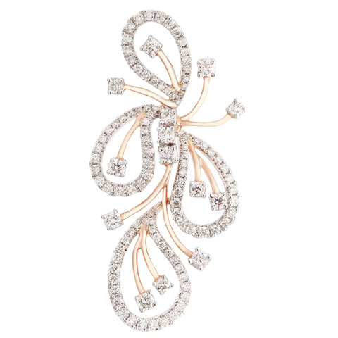 Stylish Diamond Pendant - KARP Jewellery
