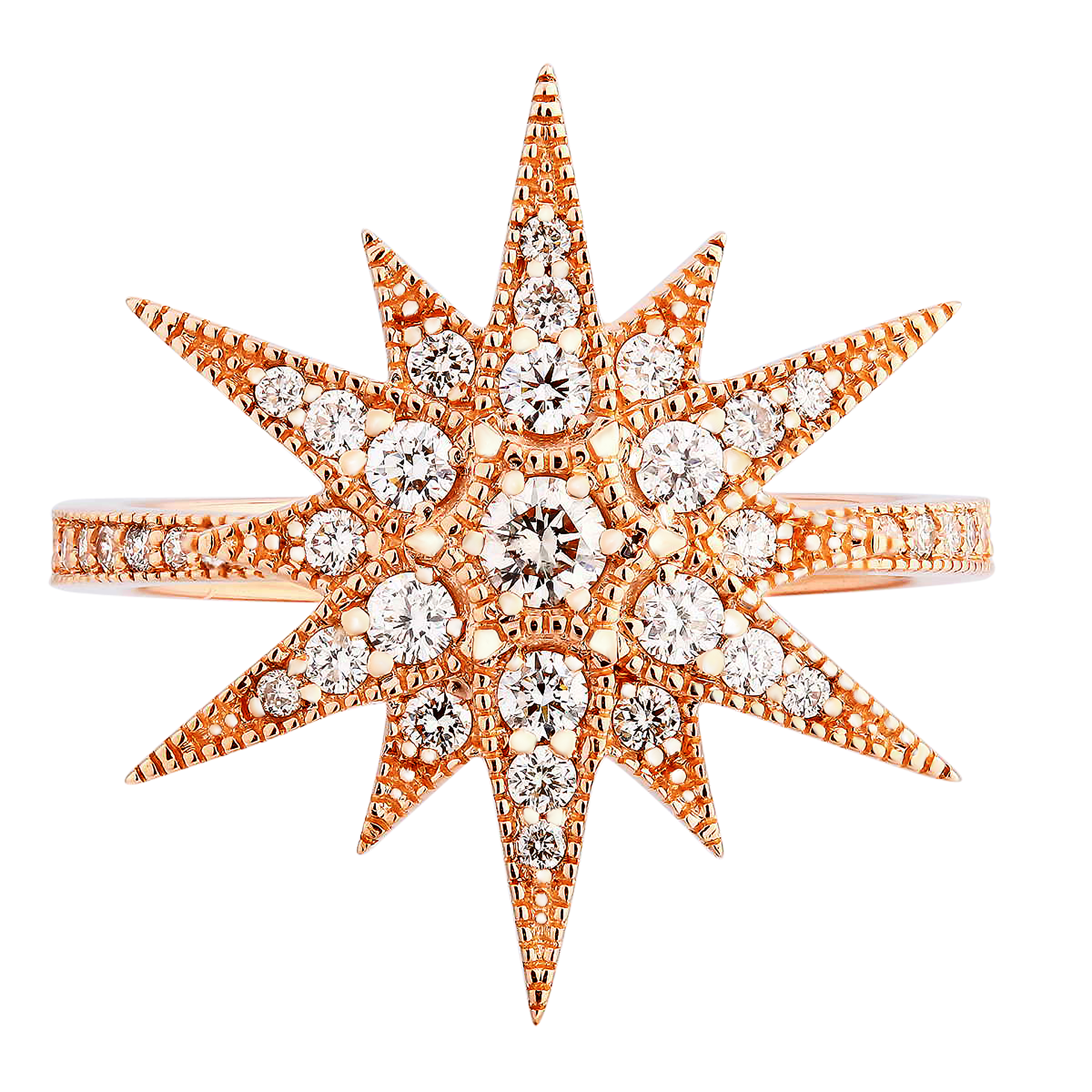 Starburst Diamond Ring - KARP Jewellery