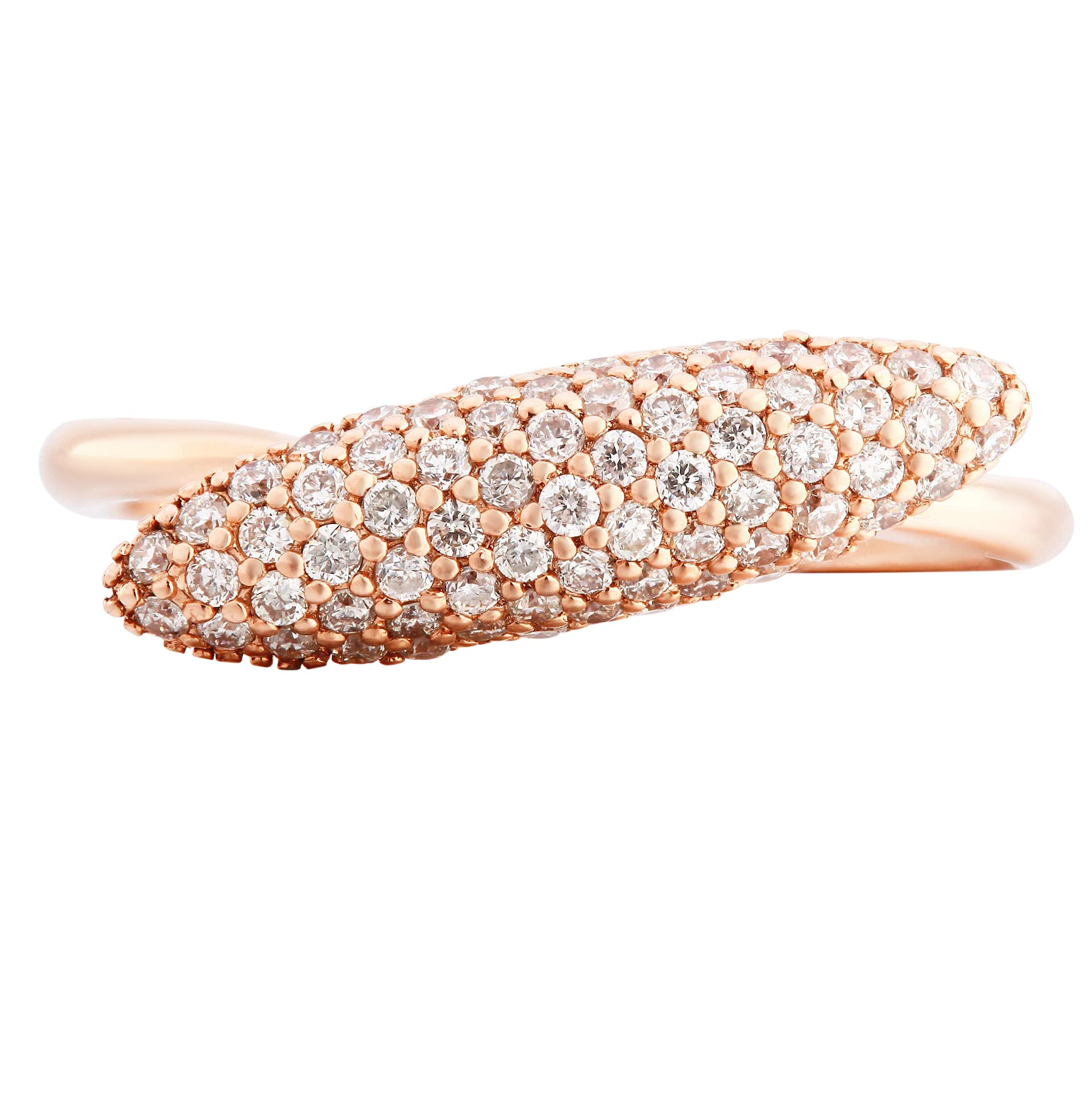Flashy Dome Rose Gold Ring - KARP Jewellery