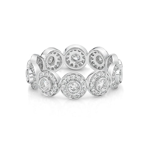 Infinity Parade Diamond Band - KARP Jewellery