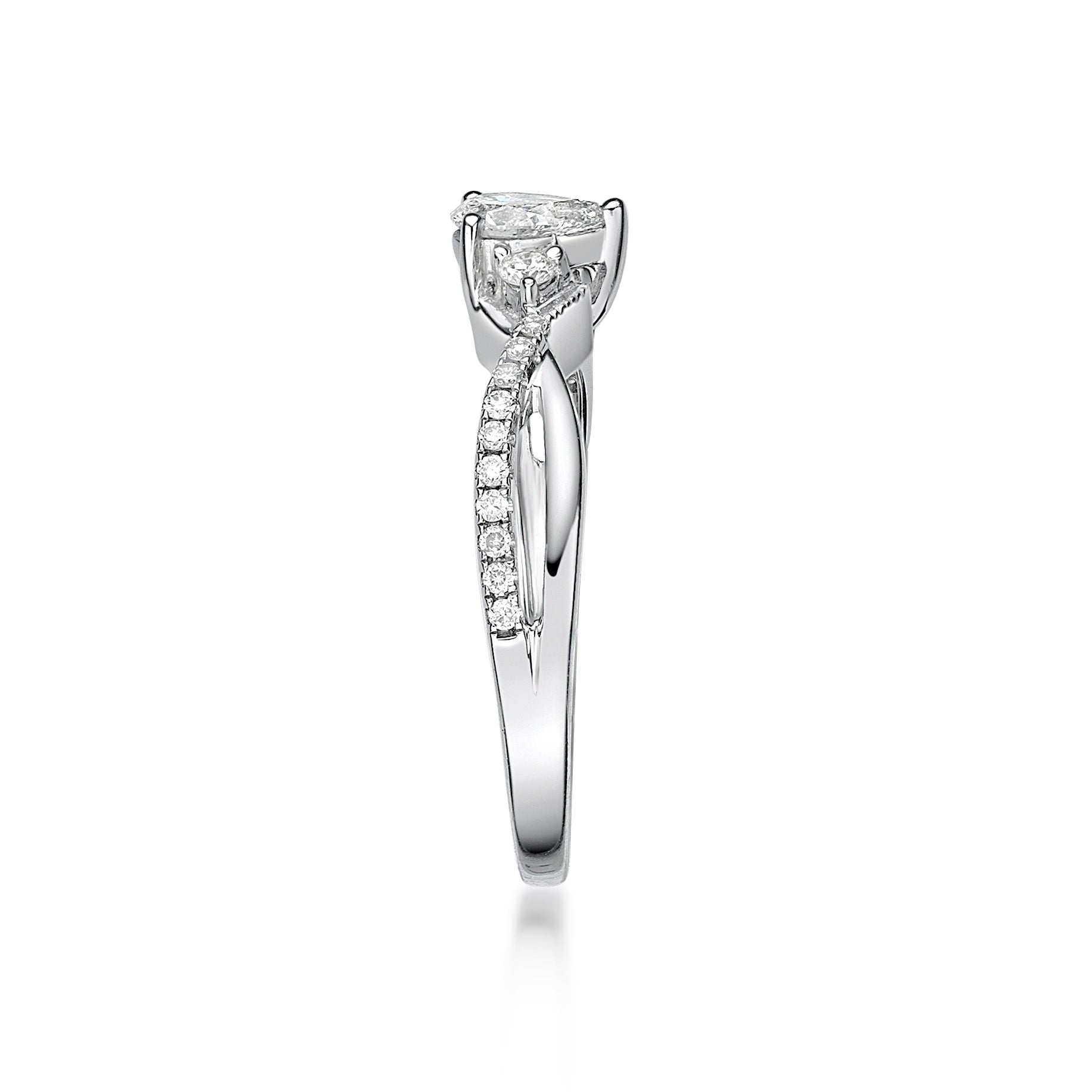 Gorgeous Pear Shape Diamond Ring - KARP Jewellery