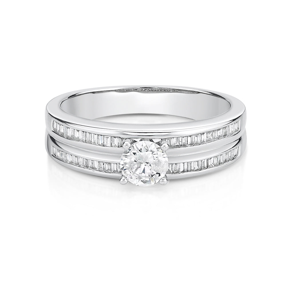 Stunning Solitaire Diamond Ring - KARP Jewellery